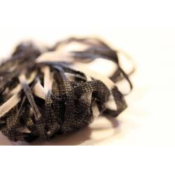JAP/lacet papier gris /noir