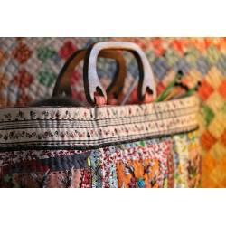 fil laine tricotin vert