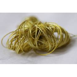 fil perlé Microfibre anis