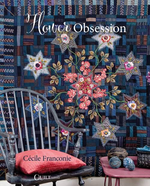 livre Cécile Franconie Flower Obsession